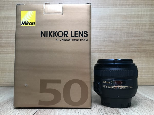 [USED @ YL LOW YAT]-Nikon AF-S 50mm F1.4 G Nikkor Lens,90% Condition Like New,S/N:220309