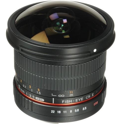 Samyang 8mm F3.5 HD Fisheye Lens for Canon M Mount