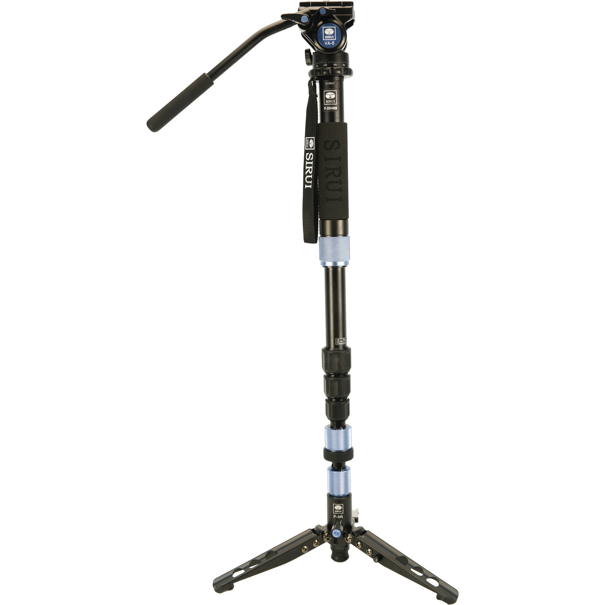 Sirui P-204SR Aluminum Monopod with VA5 Head