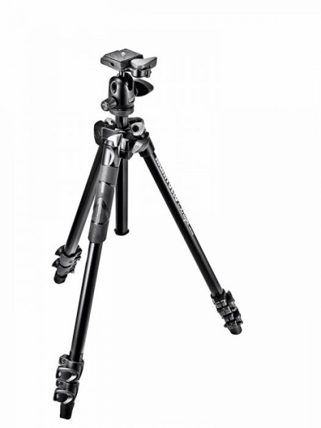 Manfrotto MK290LTA3-BH 290 Light Aluminum Tripod with Ball Head