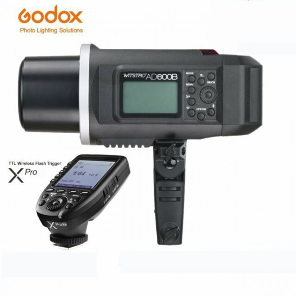 Godox AD600B TTL All-In-One Outdoor Flash XPro-N Fro Nikon Combo Set