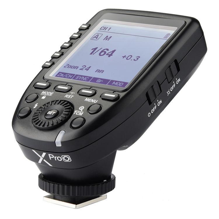 Godox XProO TTL Wireless Flash Trigger for Olympus and Panasonic Cameras