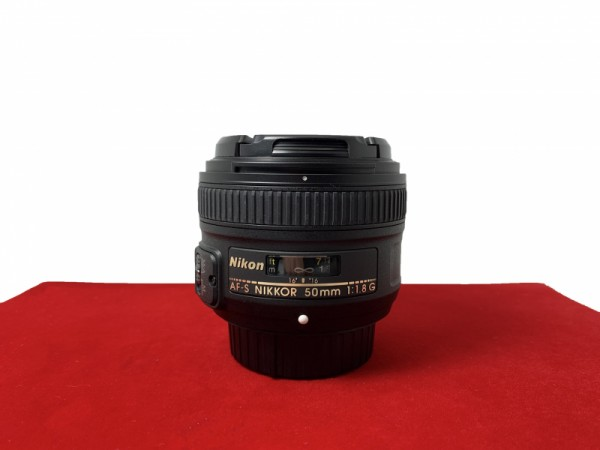 [USED-PJ33] Nikon 50MM F1.8 G AFS, 90% Like New Condition (S/N:2337414)