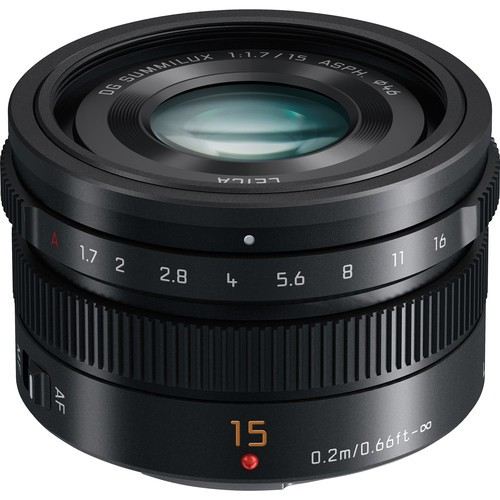 Panasonic Leica 15mm F1.7 DG Summilux ASPH. (H-X015E)