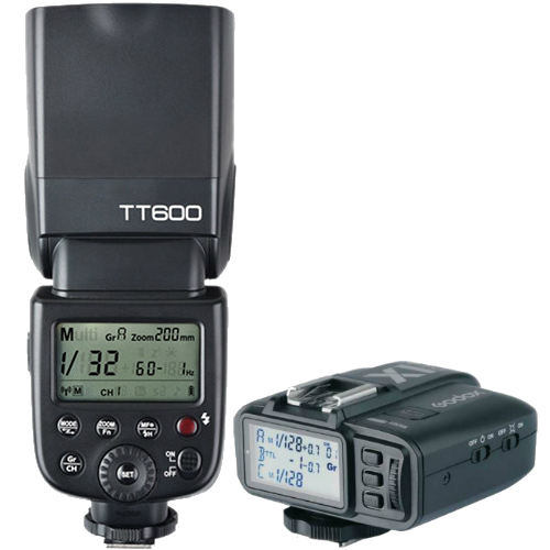 Godox TT600 Thinklite Flash Combo Set X1T-F