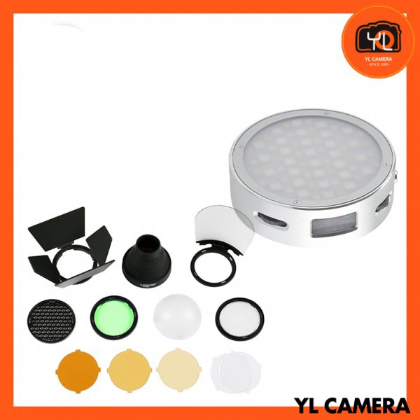 Godox R1 Round RGB Mini Creative Light W/ AK-R1 Kit