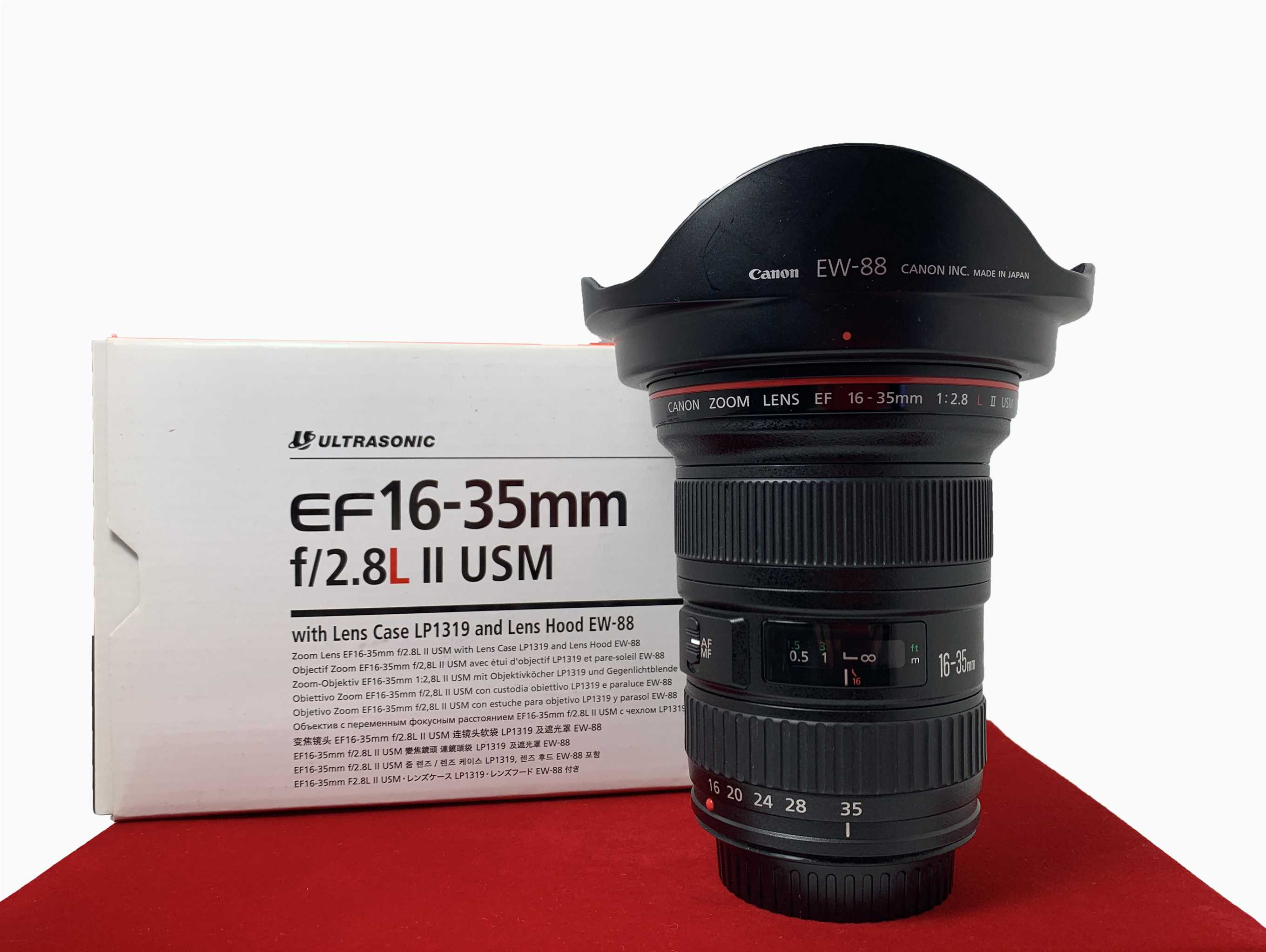 [USED-PJ33] CANON 16-35MM F2.8 L II EF USM Lens, 95% Like New Condition (S/N:4836029)