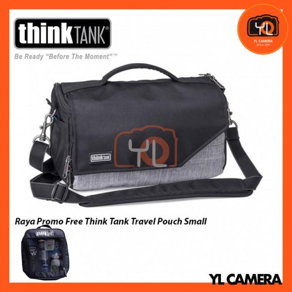 Think Tank Photo Mirrorless Mover 25i Camera Bag (Heathered Grey) Free Think Tank Photo Travel Pouch - Small