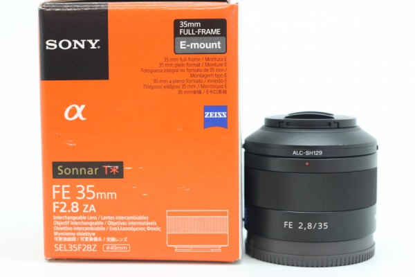 [USED-PUDU] SONY 35MM F2.8 FE ZA E-MOUNT 90%LIKE NEW CONDITION SN:1834668