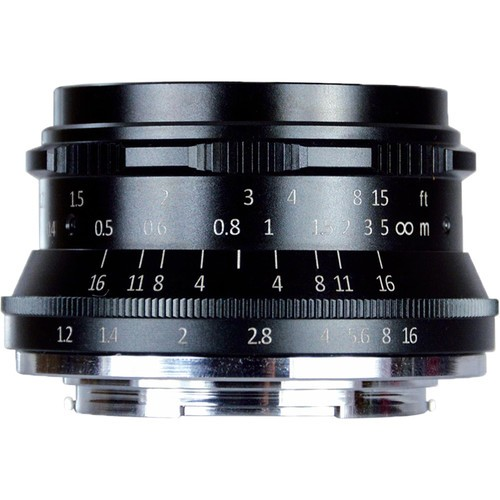 7artisans 35mm F1.2 For Micro Four Thirds (Black)