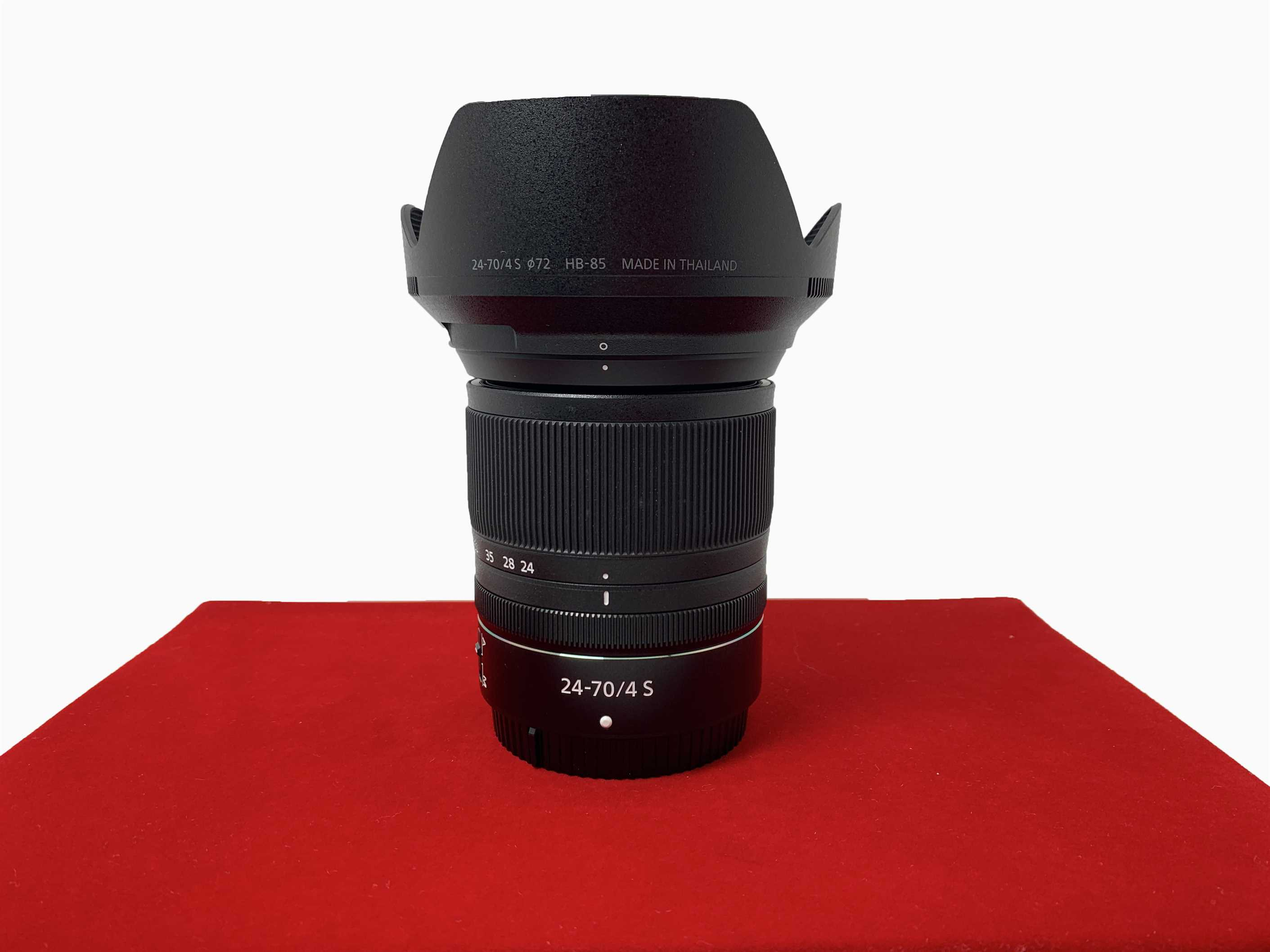 [USED-PJ33] Nikon 24-70MM F4 S Z Lens, 95% Like New Condition (S/N:20032835)