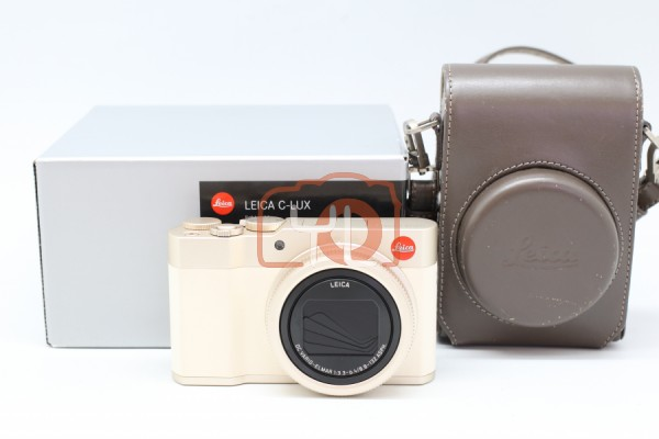 [USED-PUDU] Leica C-Lux Digital Camera - Light Gold (19125) 90%LIKE NEW CONDITION SN:5262770