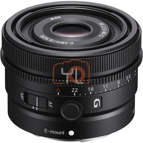 Sony FE 40mm F2.5 G (SEL40F25G)