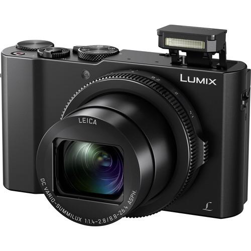 Panasonic Lumix DMC-LX10 (Black) (FREE Extra Battery Redeem Online)