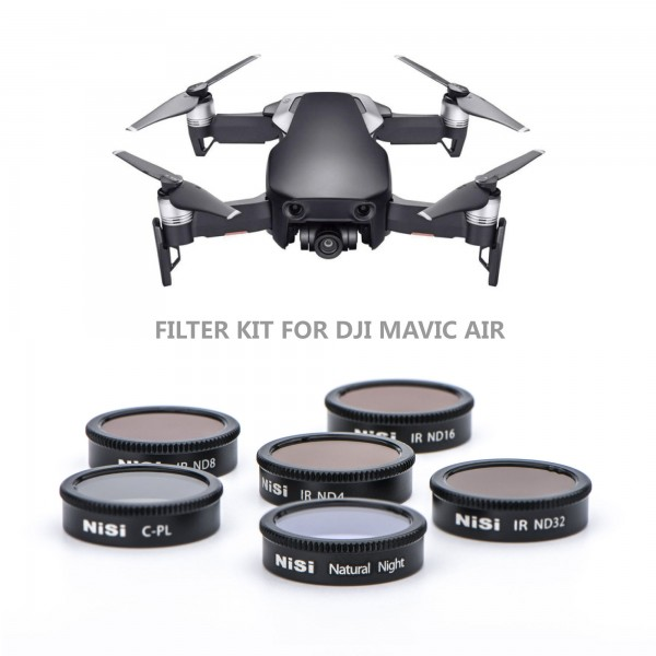 NiSi Filter kit for DJI Mavic Air (6 Pack)