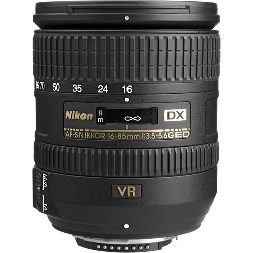 Nikon DX 16-85mm F3.5-5.6G AF-S VR