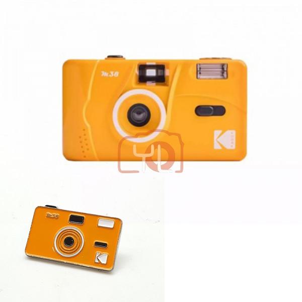Kodak M38 Film Camera - Yellow W/ Pin Tag