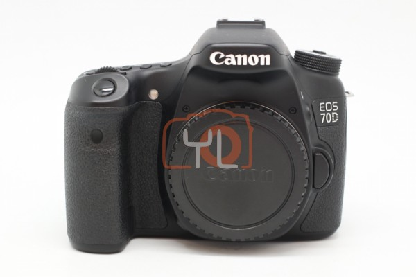 [USED-PUDU] Canon Eos 70D Body 90%LIKE NEW CONDITION SN:111026001996