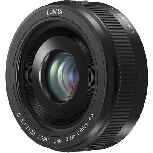 Panasonic 20mm F1.7 II LUMIX G ASPH. (H-020AE) – Black