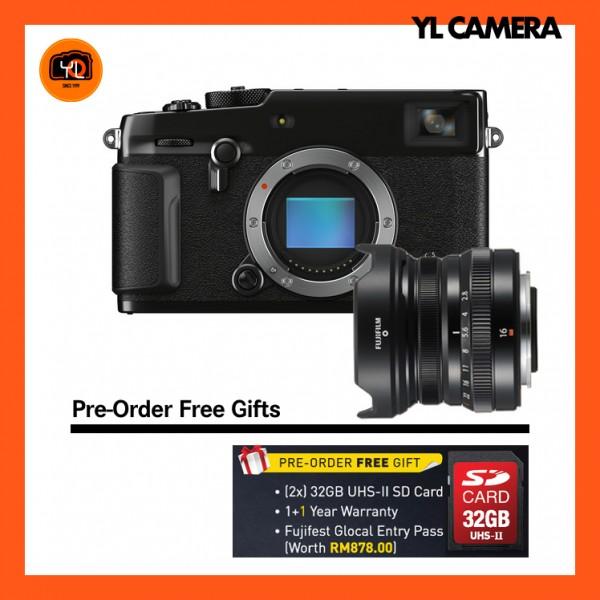 (Pre-Order) Fujifilm X-Pro 3 + XF 16mm F2.8 R WR (Black)