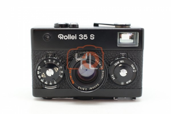 [USED-PUDU] Rollei 35S - 35mm Film Camera - Sonnar 40mm F/2.8 Lens - Black 90%LIKE NEW CONDITION SN:2250760