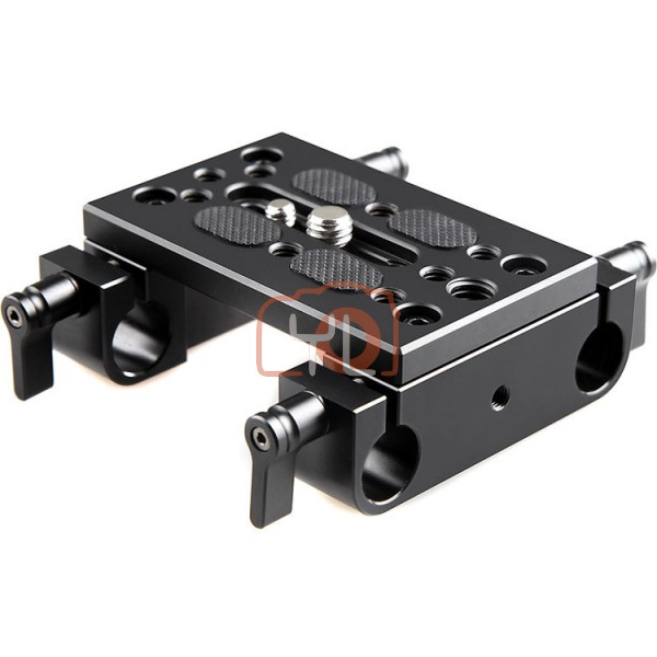 SmallRig 1775 Mounting Plate W/ Dual Rod Clamps (15mm)