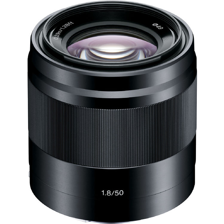 (Sony Special Deal) Sony E 50mm F1.8 [Black] (SEL50F18)