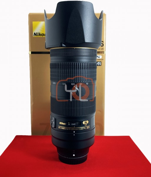 [USED-PJ33] Nikon 70-200mm F2.8 E FL VR AFS, 90% Like New Condition (S/N:269835)