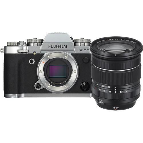 Fujifilm X-T3 + XF 16-80mm F4 R OIS WR - Silver [Free 32GB SD Card UHS-II]