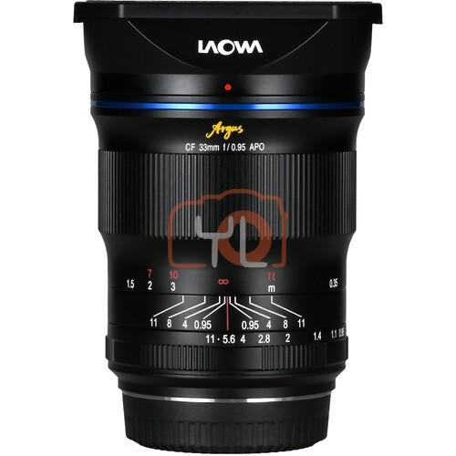 Laowa 33mm F0.95 Argus CF APO Lens (Fujifilm X-Mount)
