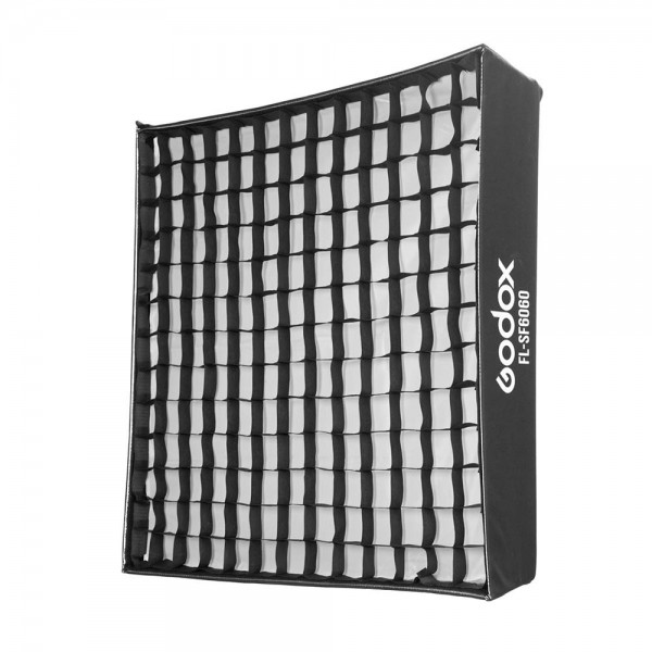 Godox FL-SF6060 Softbox Kit with Honeycomb Grid Soft Cloth Carry Bag for Godox FL150S Flexible LED Light