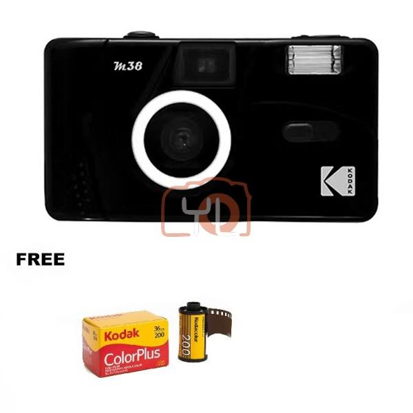 Kodak M38 Film Camera - Black (Free Kodak ColorPlus)