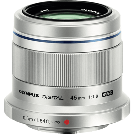 (Promotion) Olympus 45mm F1.8 M.Zuiko (Silver)