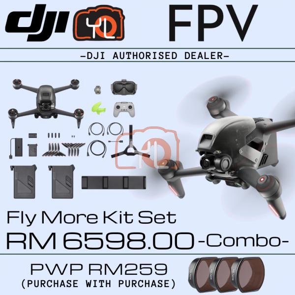 DJI FPV Combo + Fly More Kit