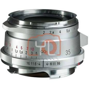 Voigtlander 35mm F2 Ultron Vintage Line Aspherical Type II VM - Silver (For Leica M-Mount)