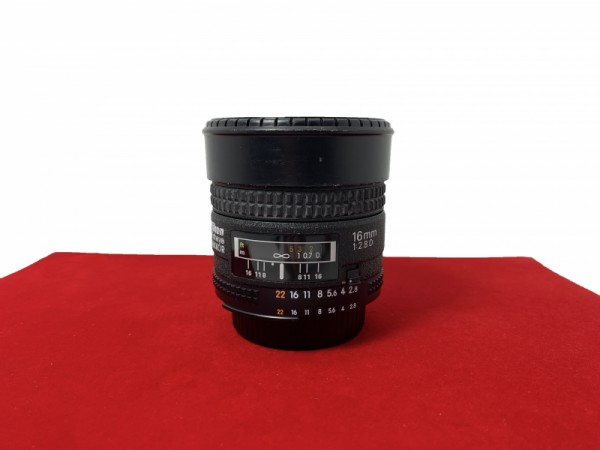 [USED-PJ33] Nikon 16MM F2.8 AFD Fisheye, 90% Like New Condition (S/N:601379)