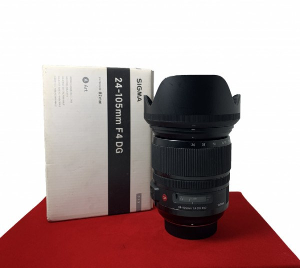 [USED-PJ33] Sigma 24-105MM F4 ART DG OS HSM (Nikon), 85% Like New Condition (S/N:50274118)