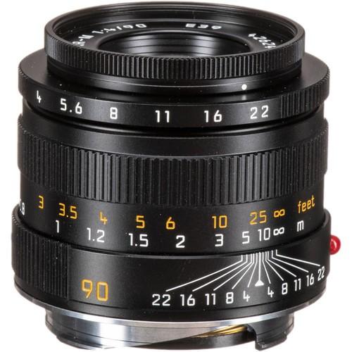 Leica 90mm F4 Macro-Elmar-M - Black (11670)