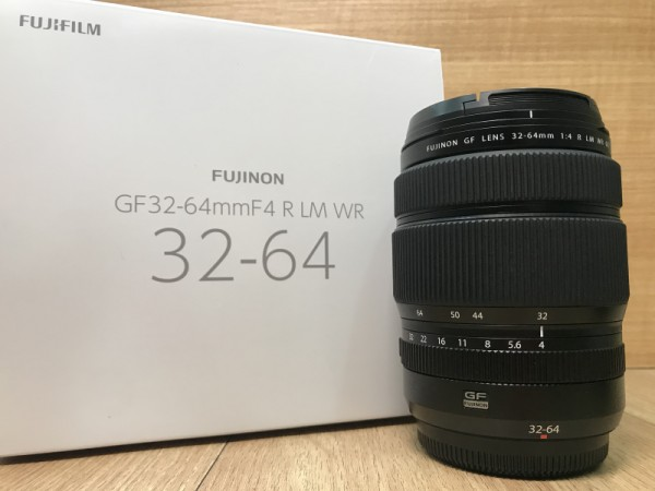 [USED @ YL LOW YAT]-Fujifilm GF 32-64mm F4 R LM WR For GFX Lens,98% Condition Like New,S/N:88A00638