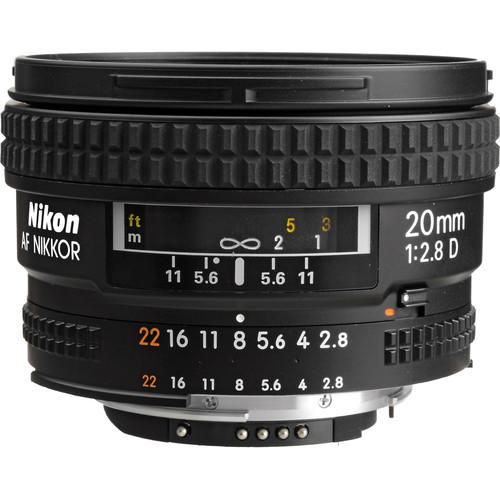 Nikon 20mm F2.8 AF D