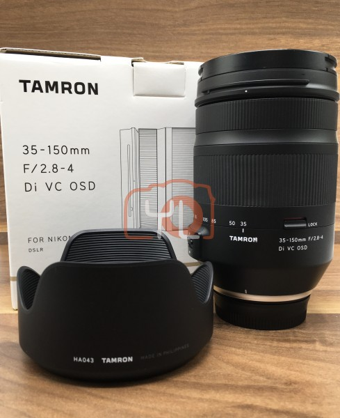 [USED @ YL LOW YAT]-Tamron 35-150mm F/2.8-4 Di VC OSD Lens For Nikon,98% Condition Like New,S/N:00001245