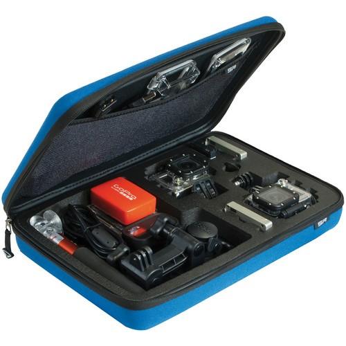 SP-Gadgets POV Case for GoPro Cameras (Large, Blue)