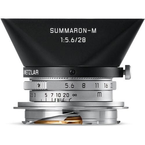Leica 28mm F5.6 Summaron-M - Silver (11695)