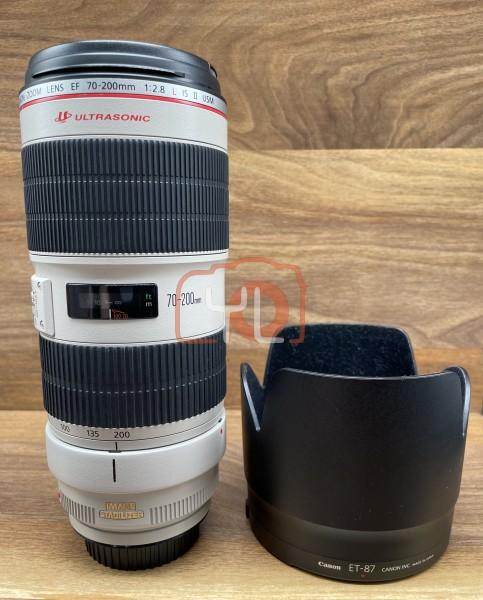 [USED @ YL LOW YAT]-Canon EF 70-200mm F2.8 L IS II USM Lens,98% Condition Like New,S/N:9420007159