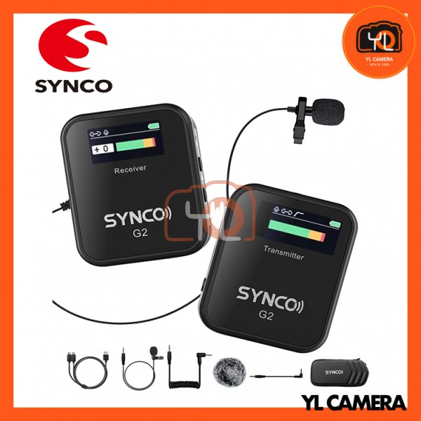 Synco WAir-G2-A1 Ultracompact Digital Wireless Microphone System for Mirrorless/DSLR Cameras (2.4 GHz)