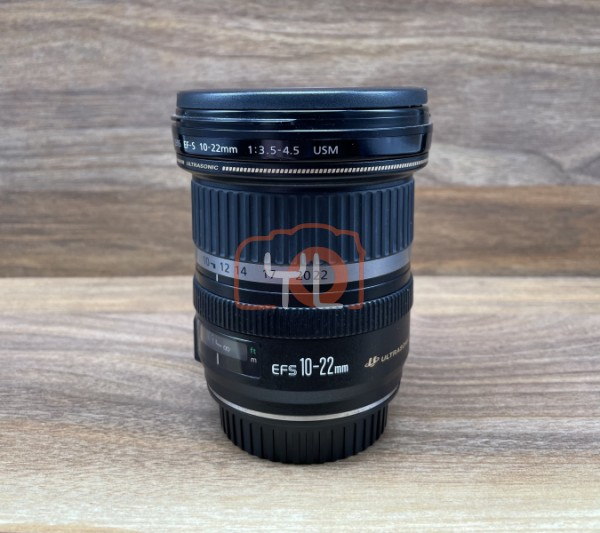 [USED @ YL LOW YAT]-Canon EF-S 10-22mm F3.5-4.5 USM Lens,90% Condition Like New,S/N:58504379