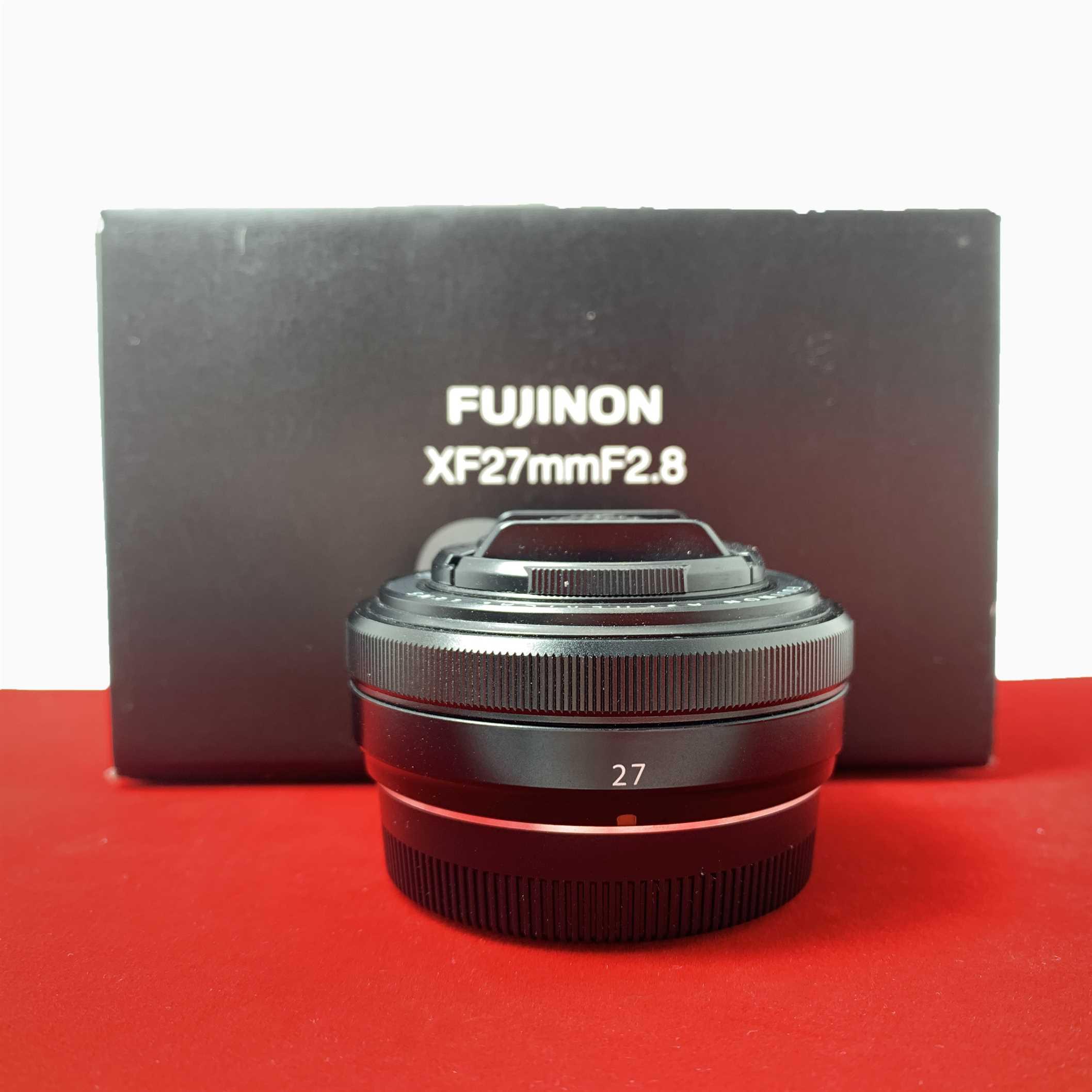 [USED-PJ33] Fujifilm 27MM F2.8 XF Lens,95% Like New Condition (S/N:61A01159)