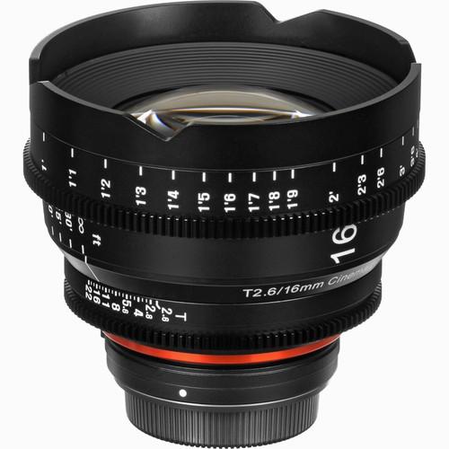 Samyang Xeen 16mm T2.6 Lens for Sony E-Mount