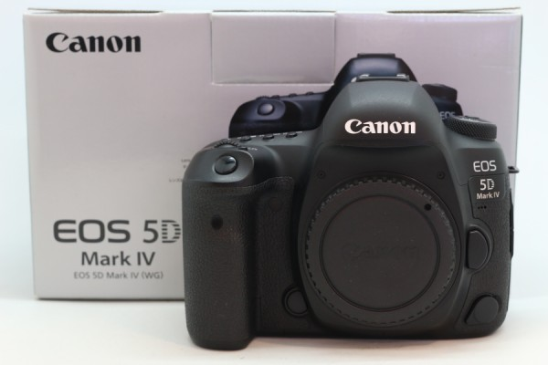 [USED-PUDU] CANON EOS 5D MARK IV CAMERA BODY 95%LIKE NEW CONDITION SN:028021002119