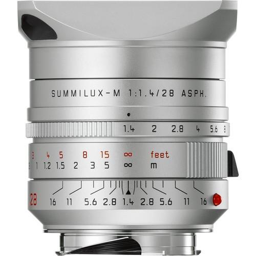 Leica 28mm F1.4 Summilux-M ASPH. - Silver (11668)